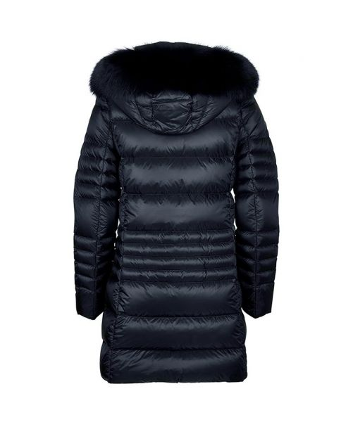 LONG DOWN JACKET WITH FUR 2289 7QD