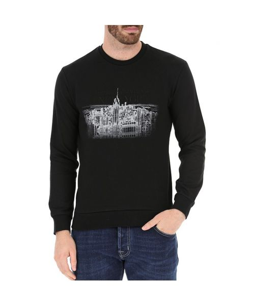 SWEATSHIRT WITH NEW YORK PRINT