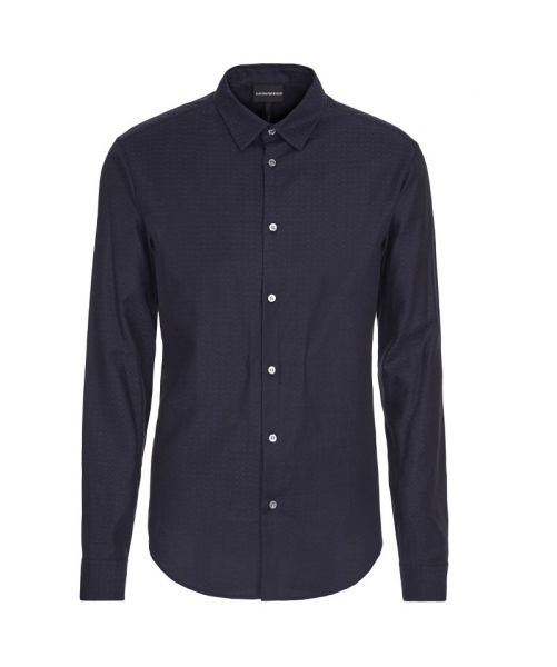 JAQUARD STRETCH SHIRT
