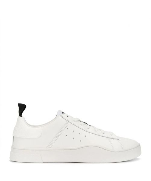 SNEAKERS IN PELLE S-CLEVER LOW