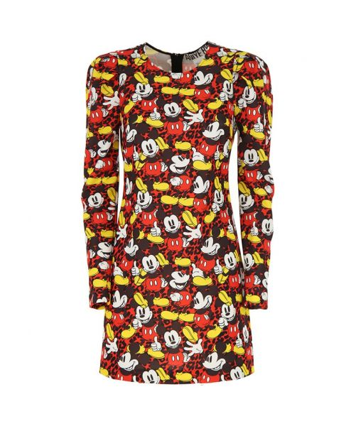 DRESS WITH MICKEY MOUSE PRINT