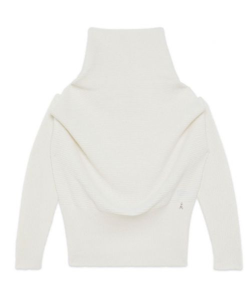 KNIT POLO NECK