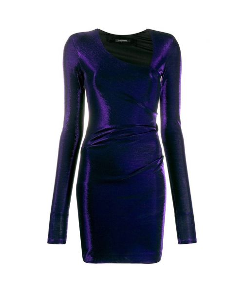 SHEATH DRESS WITH LUREX
