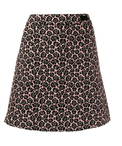 JACQUARD SHORT SKIRT