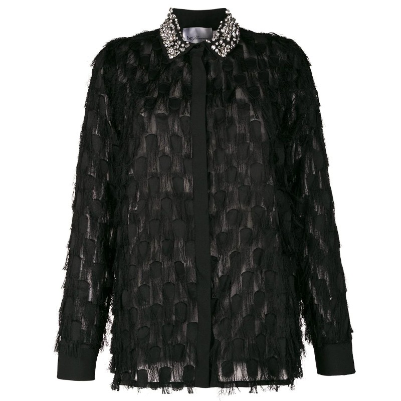 SHIRT WITH FRINGES