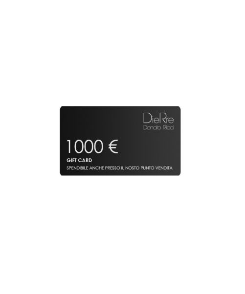GIFT CARD 1000 €