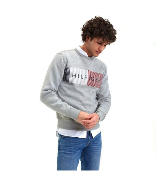 FLEX FLEECE LOGO SWEATSHIRT