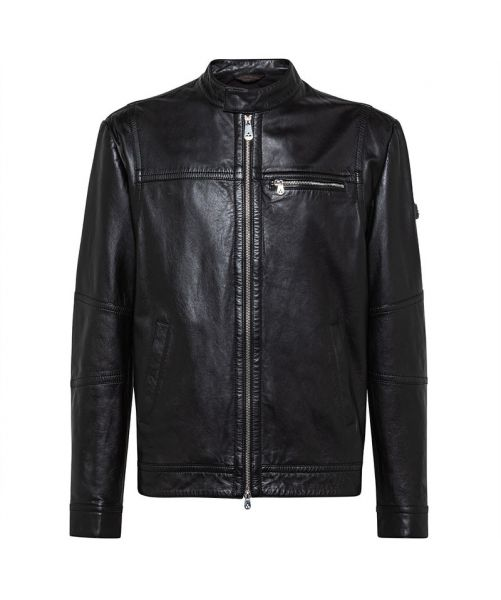 PEUTERY LEATHER JACKET