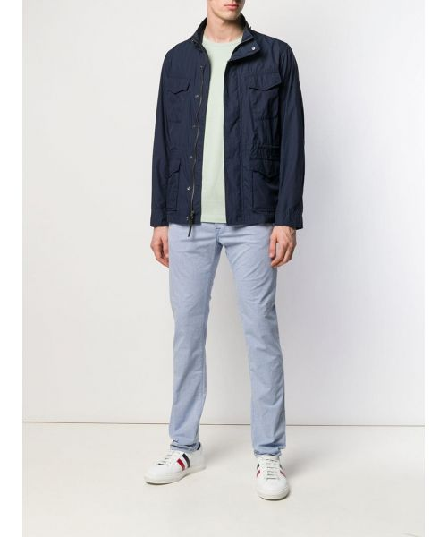 WOOLRICH CABAN WITH FRONT POCKET