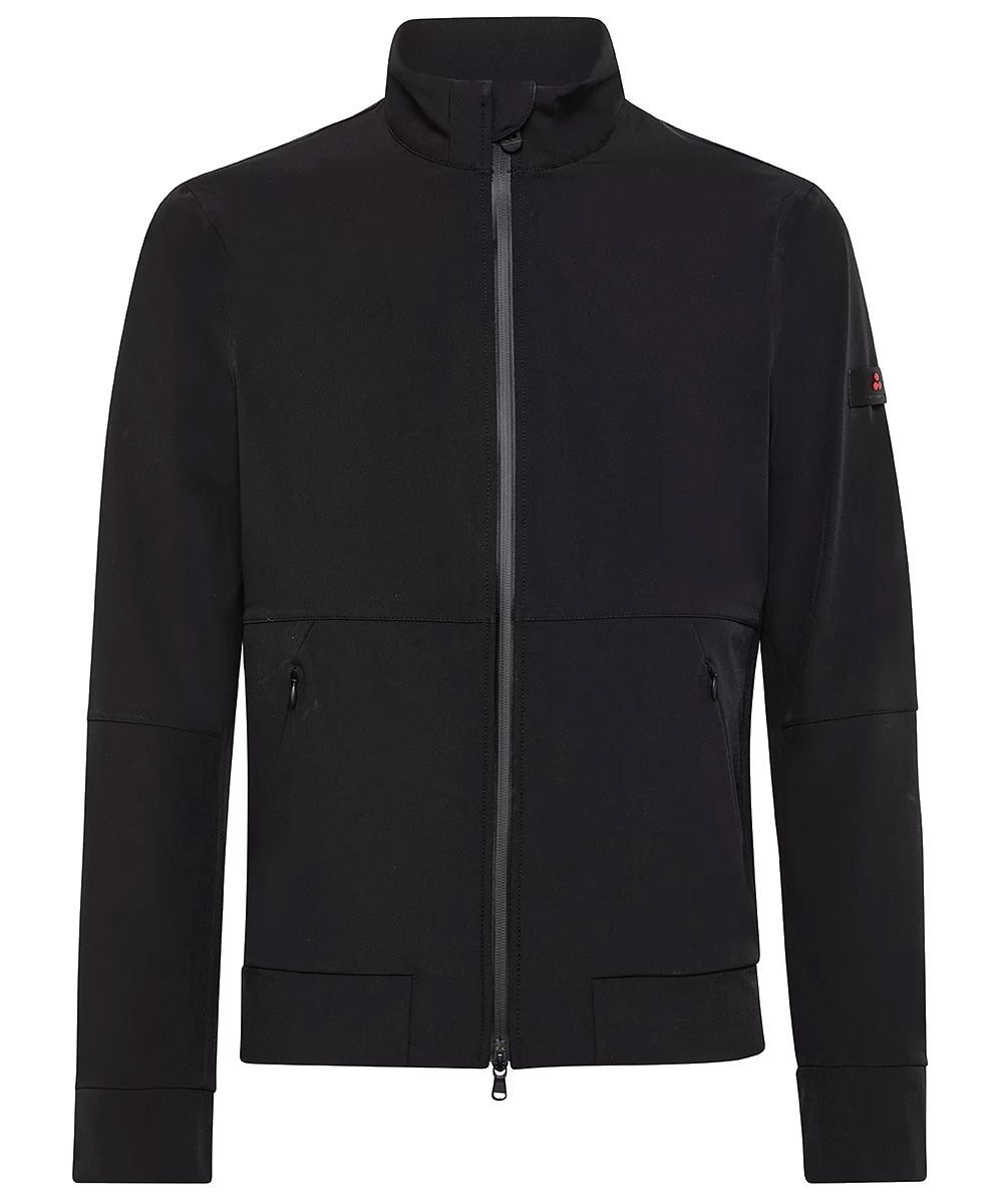 Smooth comfortable bomber jacket