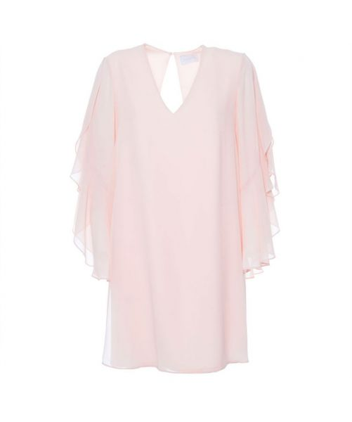 NENETTE DRESS WITH LONG SLEEVES IN VOILE